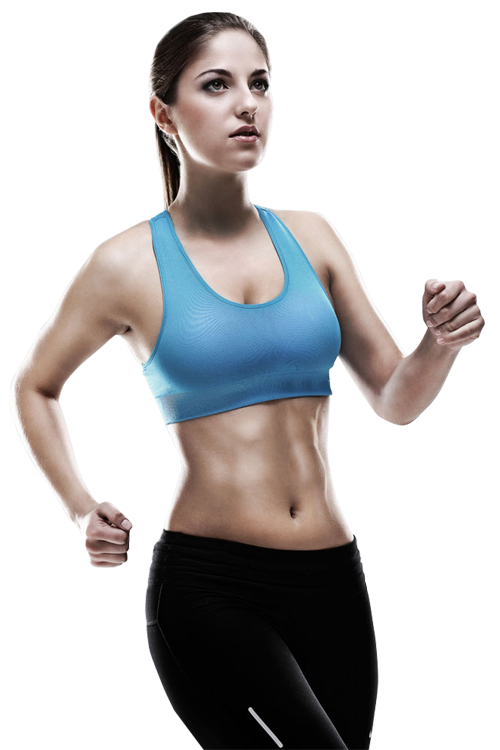 Dumbbell clipart female fitness. Portfolio designshop sport running