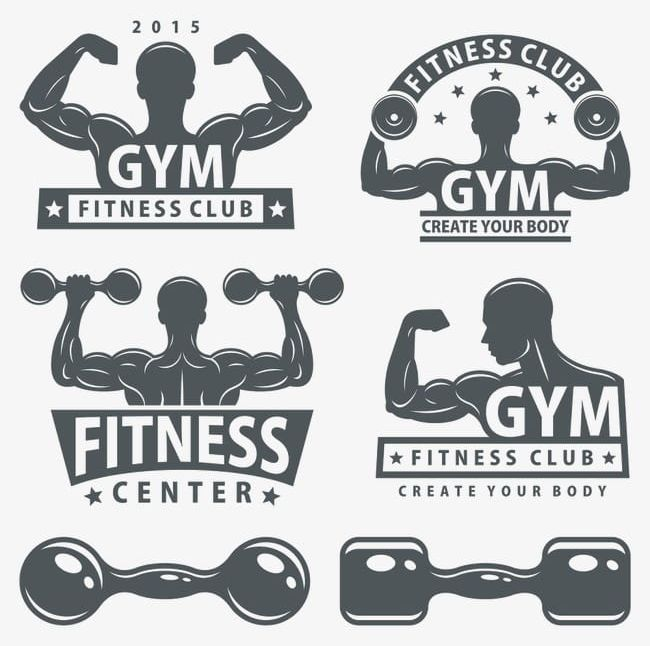 Dumbbell clipart fitness club. Png