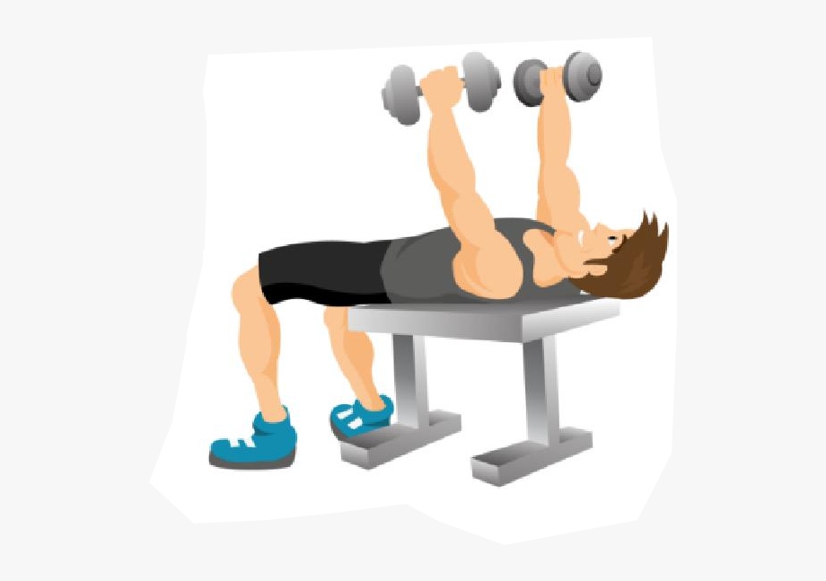 Clip art black and. Dumbbell clipart fitness training