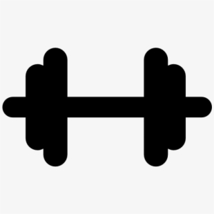 Dumbbell clipart fitness training. Centre hantel transprent