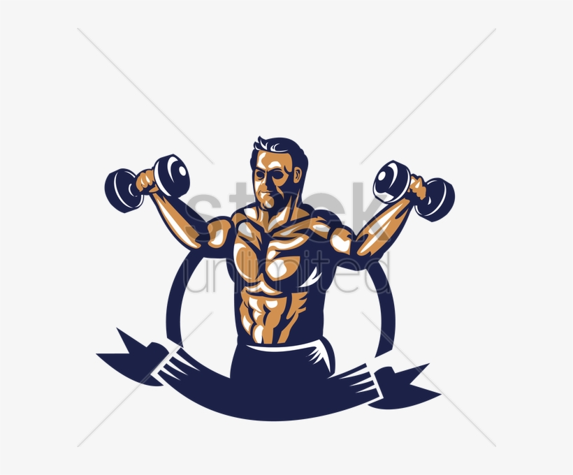 Dumbbell clipart group fitness. Dumbbells bodybuilder with