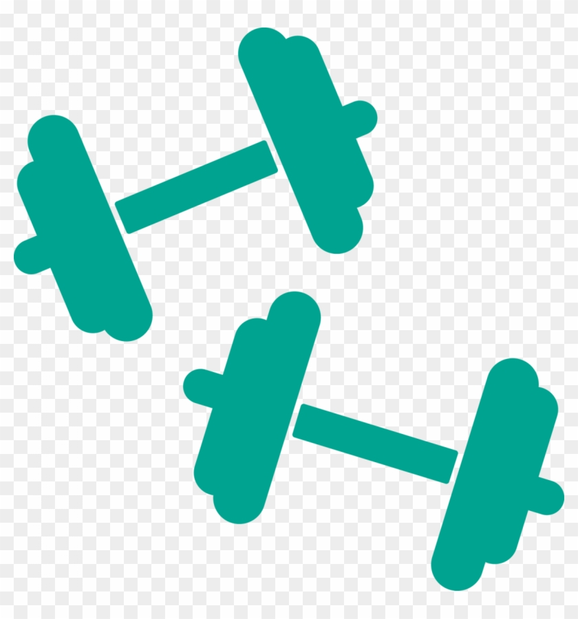Dumbbells clipart fitness. Group equipment cliparts