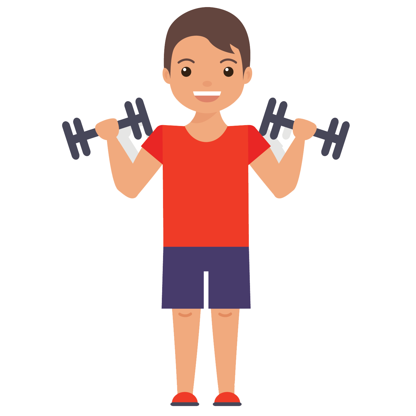 Training sessions john fit. Dumbbell clipart gym coach