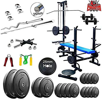 Dumbbell clipart gym instrument. Exercise equipment in bench