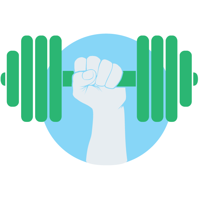Dumbbell clipart hand holding. Isoc in numbers internet
