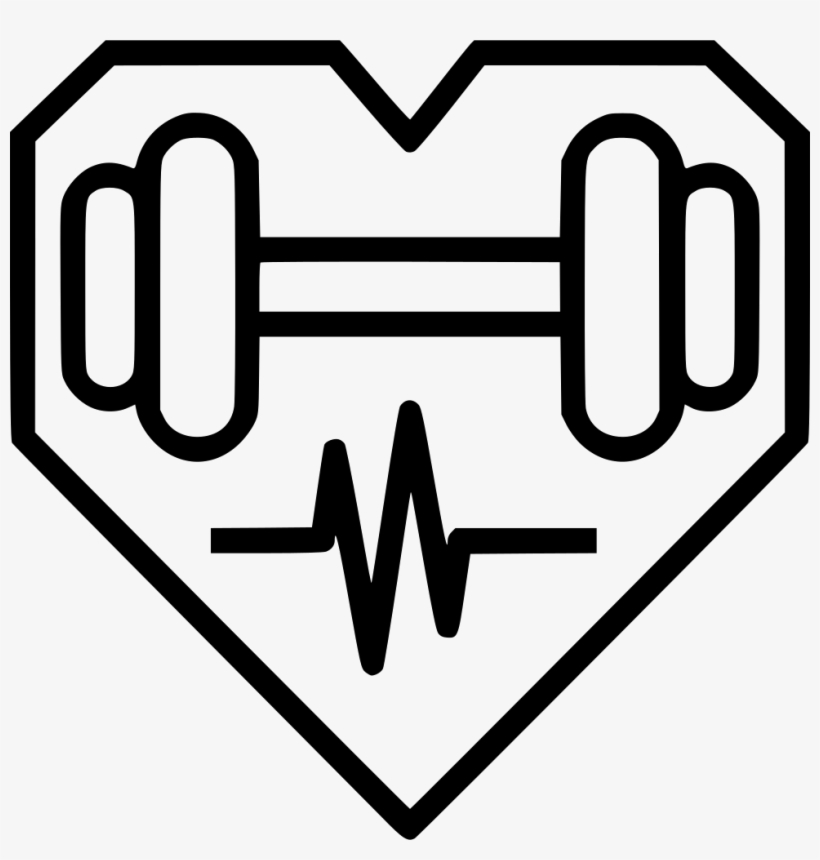And icon . Dumbbells clipart health fitness