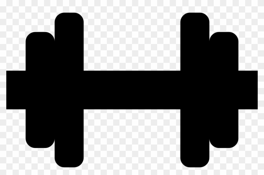 Dumbbells clipart icon. Jpg black and white
