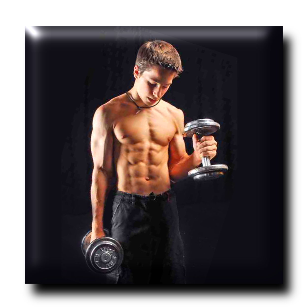 Dumbbell clipart male fitness. Health and for you
