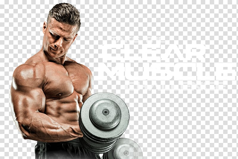 Black steel with text. Dumbbells clipart body building
