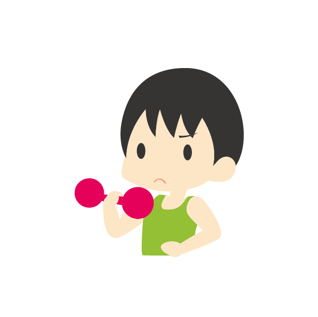 Dumbbells clipart body building. Cartoon drawing bodybuilding motion