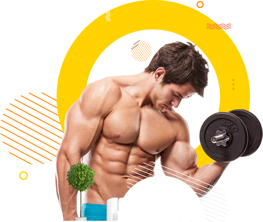 Dumbbell clipart male fitness. Repd success story of