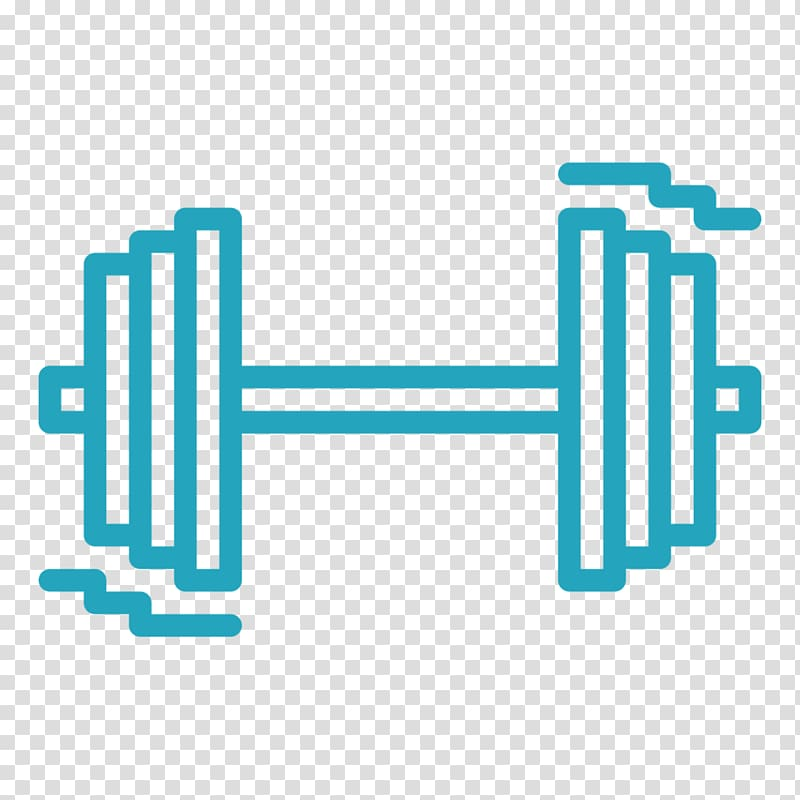 Fitness centre weightlifting . Dumbbell clipart olympic barbell