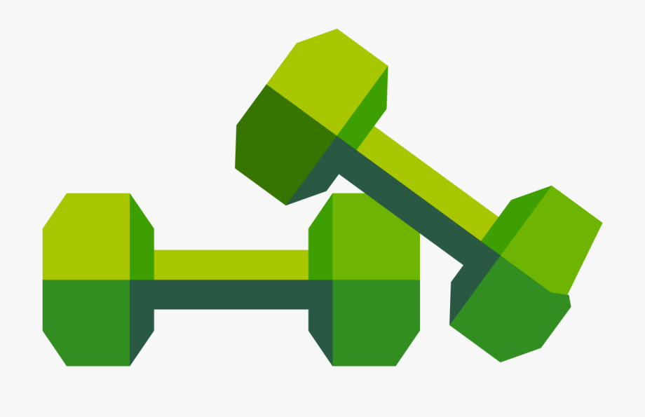 Dumbbell logo png . Dumbbells clipart personal fitness