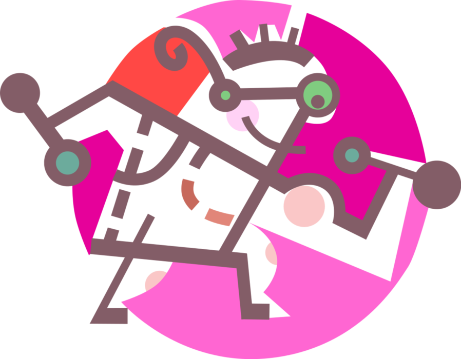 Strongman lifts weights vector. Weight clipart pink dumbbell