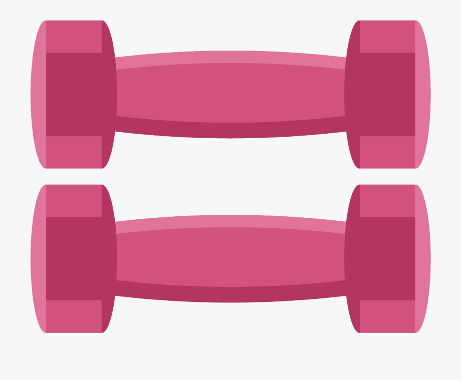 Dumbbells clipart pink dumbbell. Cliparts