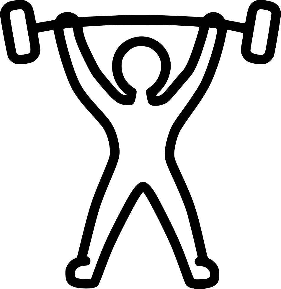 Dumbbell clipart powerlifting. Weightlifting weightlift powerlift barbell