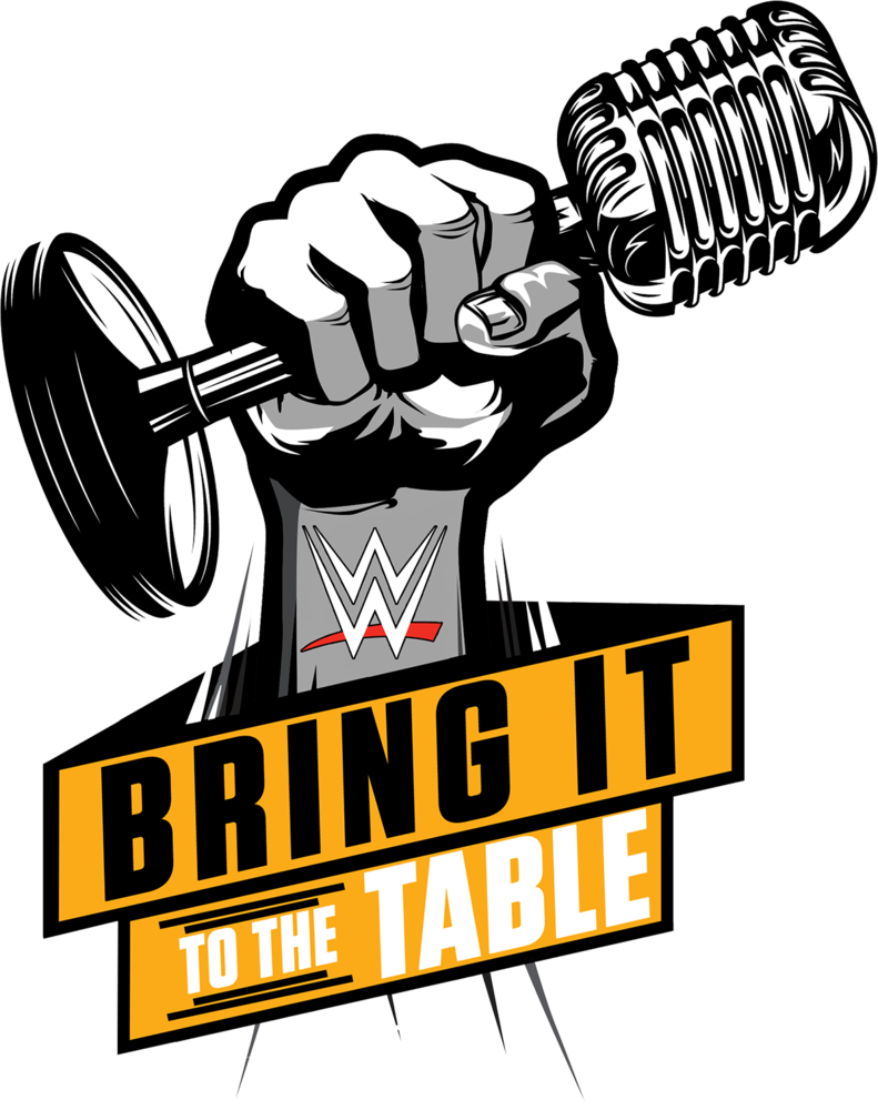 Dumbbell clipart powerlifting. Wwe bring it to