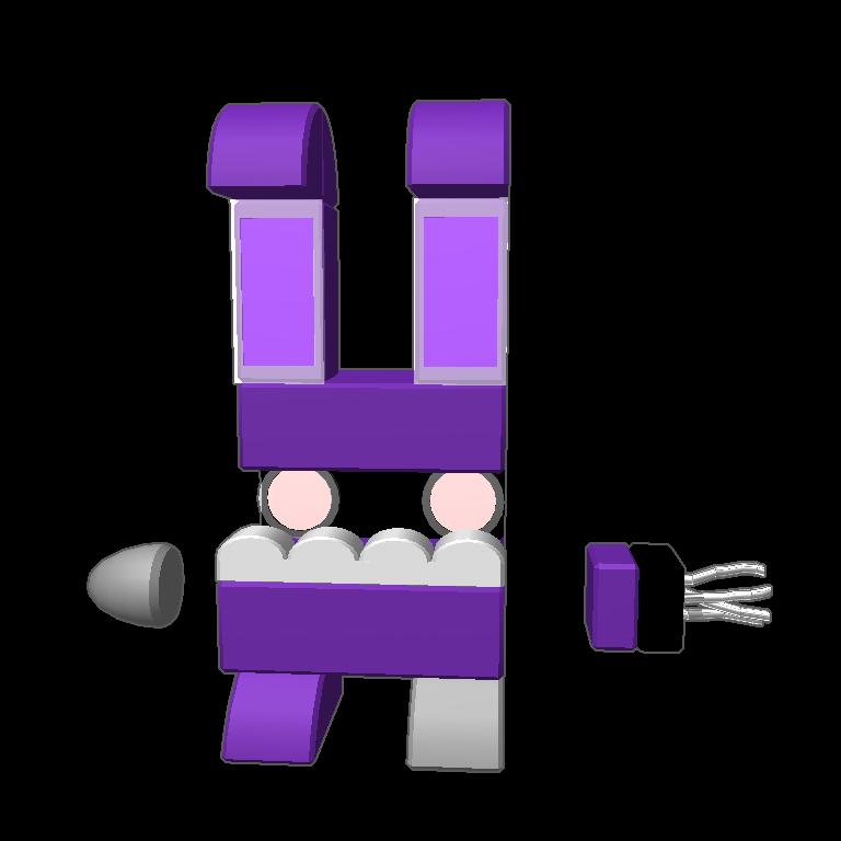 Blocksworld by silvereyes. Dumbbell clipart purple