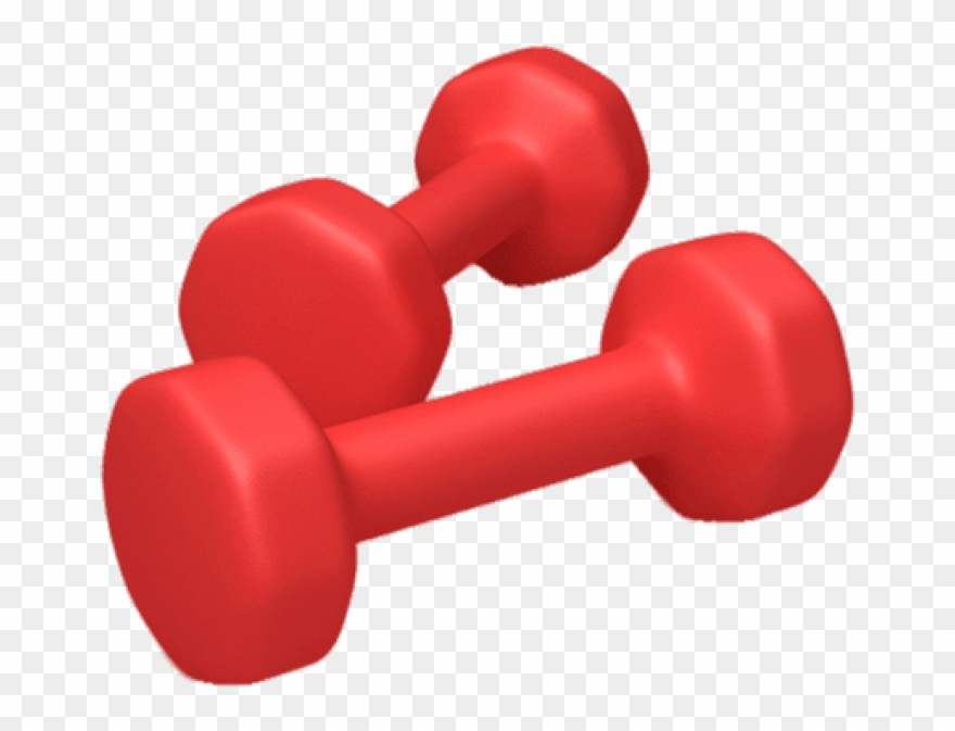 Dumbbell clipart red. Download dumbbells png images