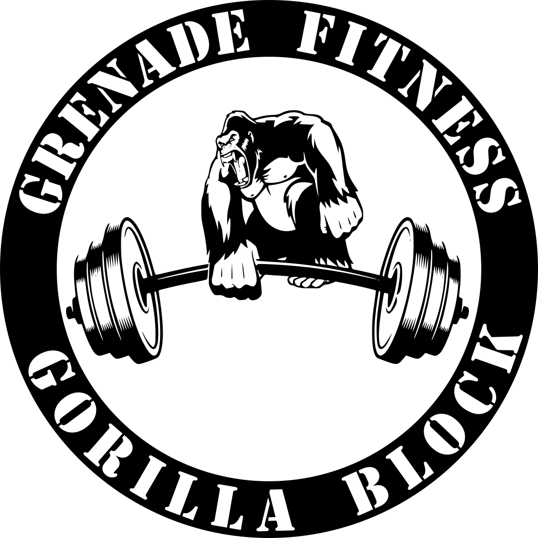 Gorilla block automated templates. Weight clipart powerlifter