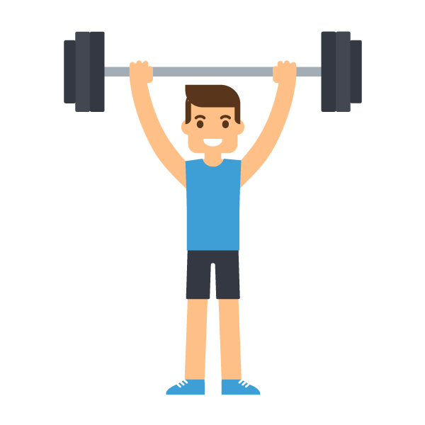 Dumbbells clipart healthy. Shoulder accessory movement fix