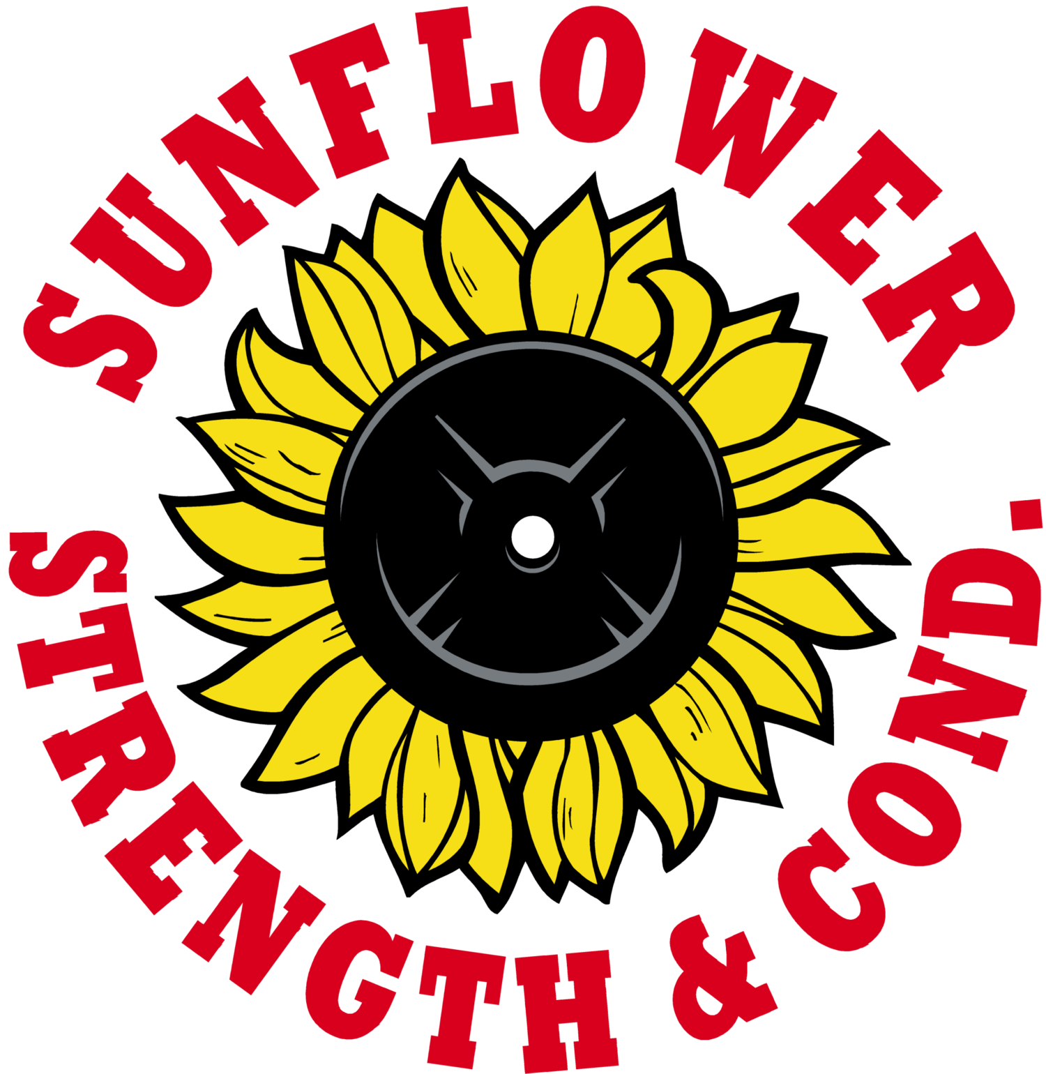 Sunflower . Weight clipart strength and conditioning