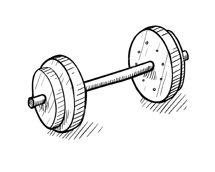 Dumbbell clipart strength and conditioning. Bxr london high end