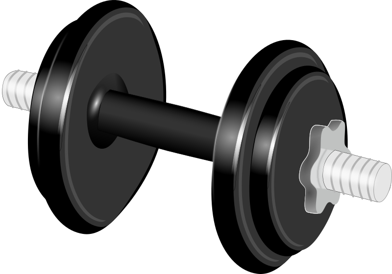 Medium image png . Dumbbell clipart svg