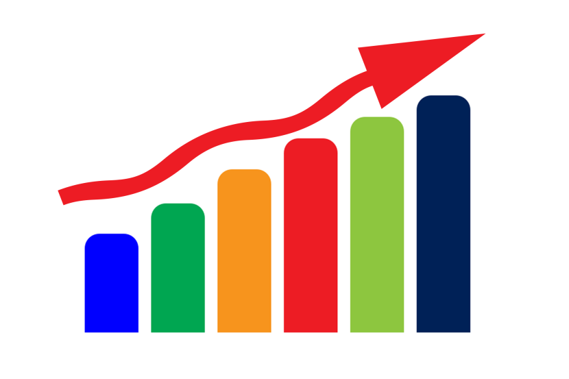 Graph clipart growth graph. Progression is key to
