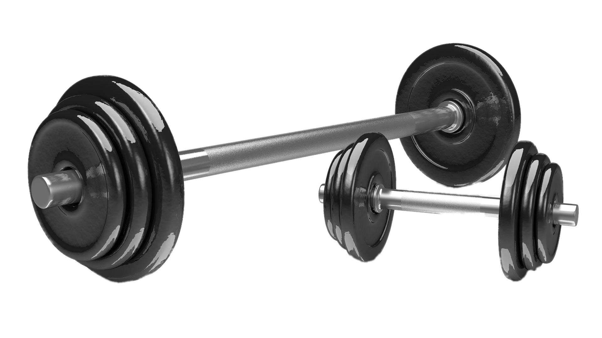 collection of weights. Exercise clipart weightlifting