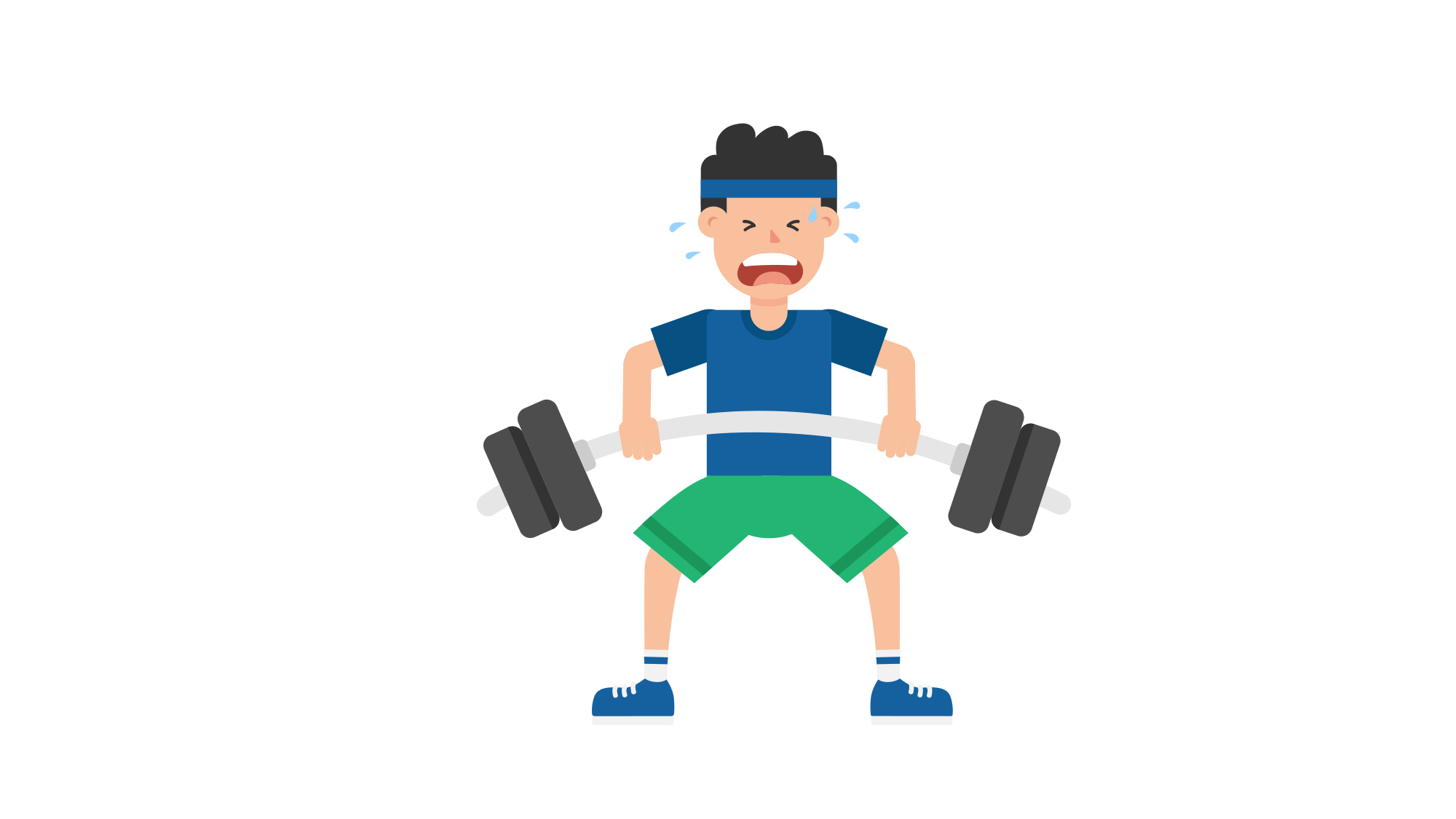Dumbbells clipart weight bench. File man lifting barbell