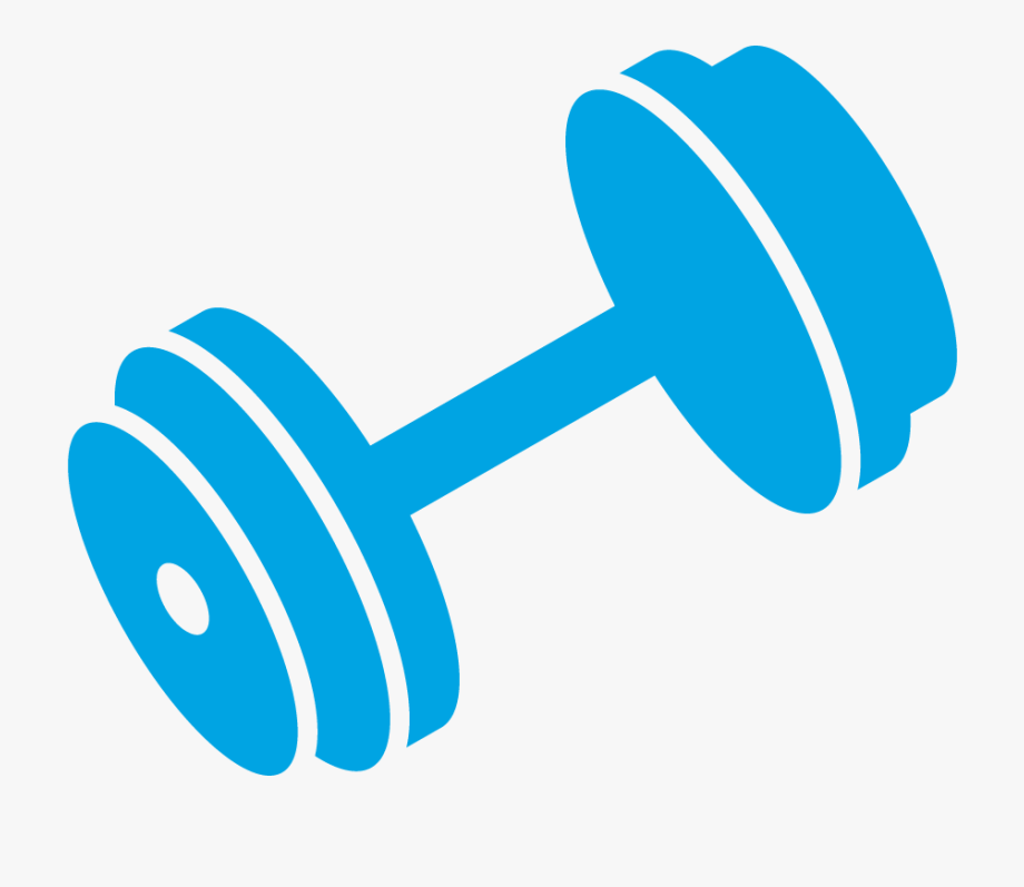 Hand jpg blue clip. Barbell clipart dumbbell