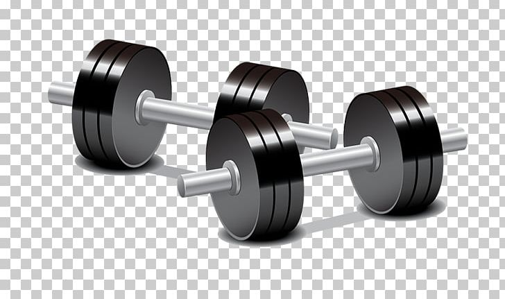 Dumbbell weight training olympic. Dumbbells clipart animated