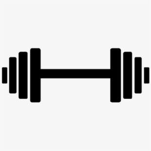 Dumbbells clipart barbell. Membership dumbbell fitness logo