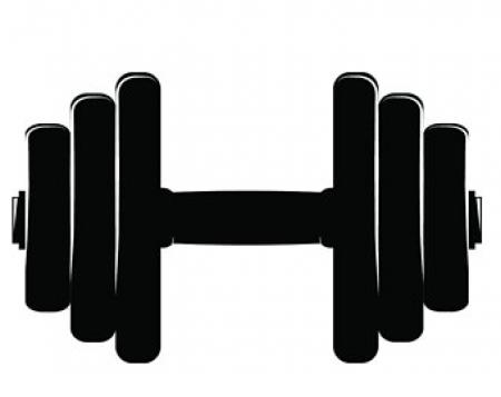 Dumbbells clipart barbell. Dumbbell free download on