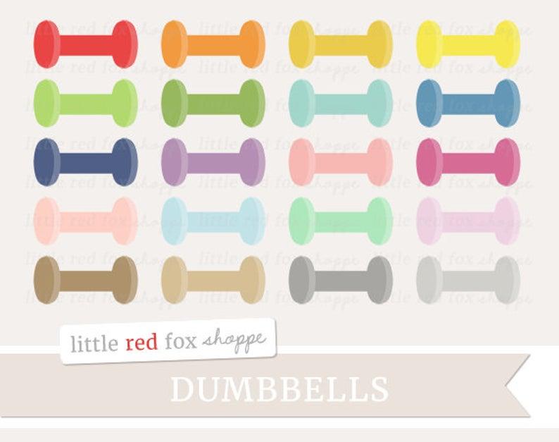 Dumbbell fitness clip art. Dumbbells clipart cute