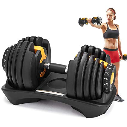Popsport lbs adjustable dumbbell. Dumbbells clipart gym tool