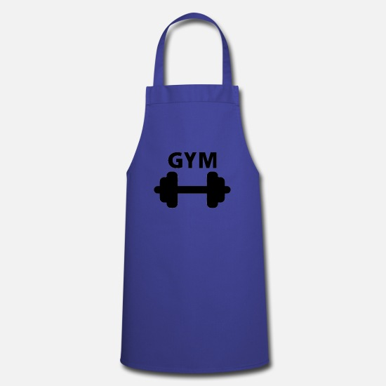 Apron spreadshirt . Dumbbells clipart gym tool