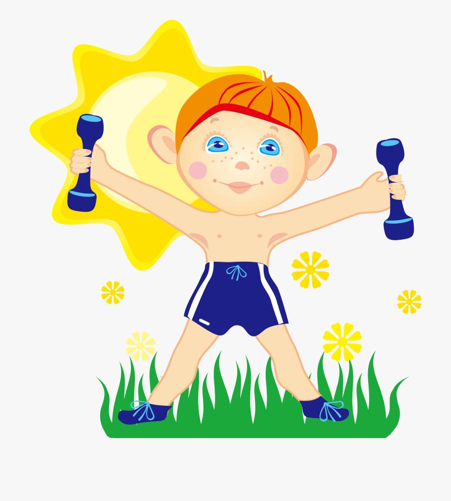 Dumbbells clipart health fitness. Kids free