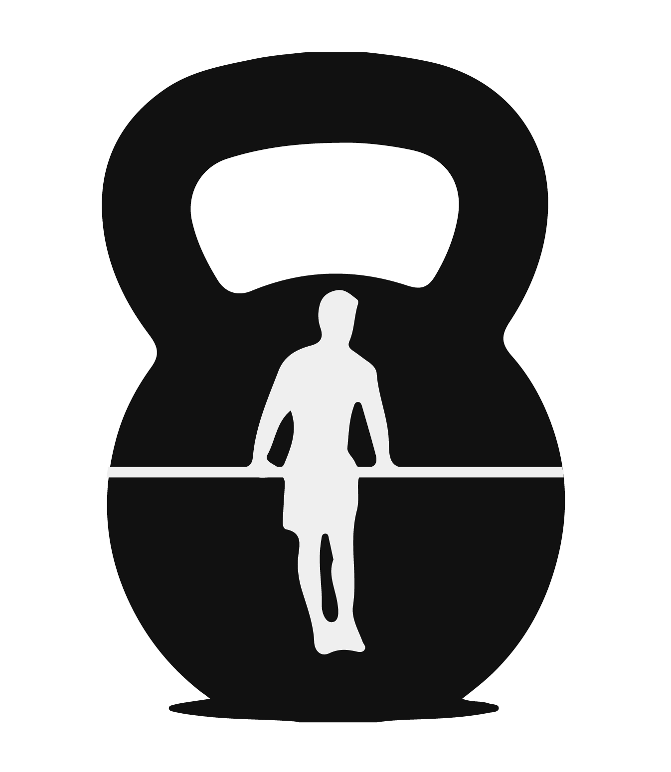 Dumbbells clipart silhouette. Kettlebell at getdrawings com