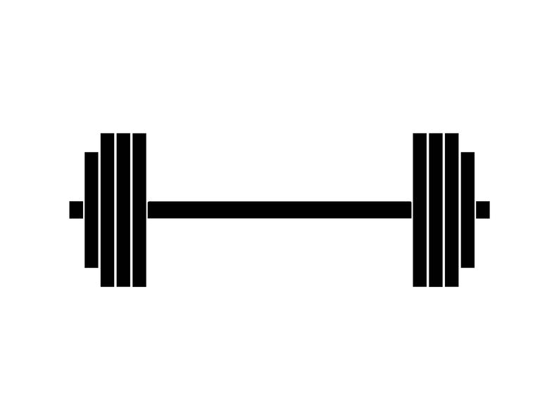 Dumbbells clipart strength. Barbell dumbbell bodybuilder equipment