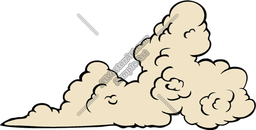 Dust clipart.  collection of cloud