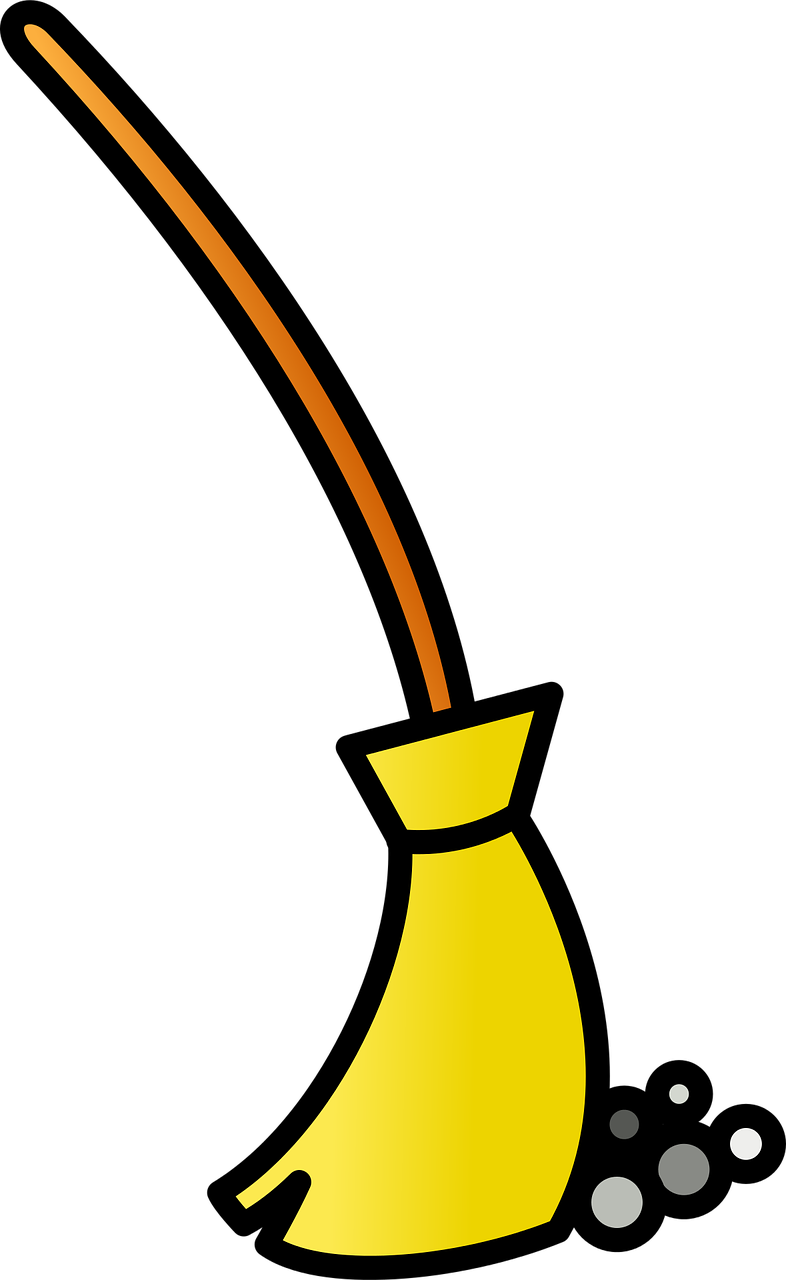Clean icon sweep png. Dust clipart broom sweeping