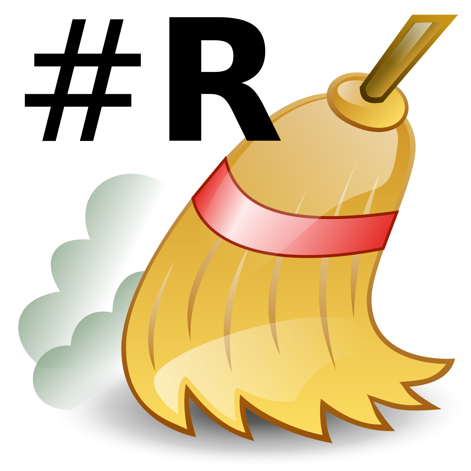 Dust clipart broom sweeping. File icon r svg