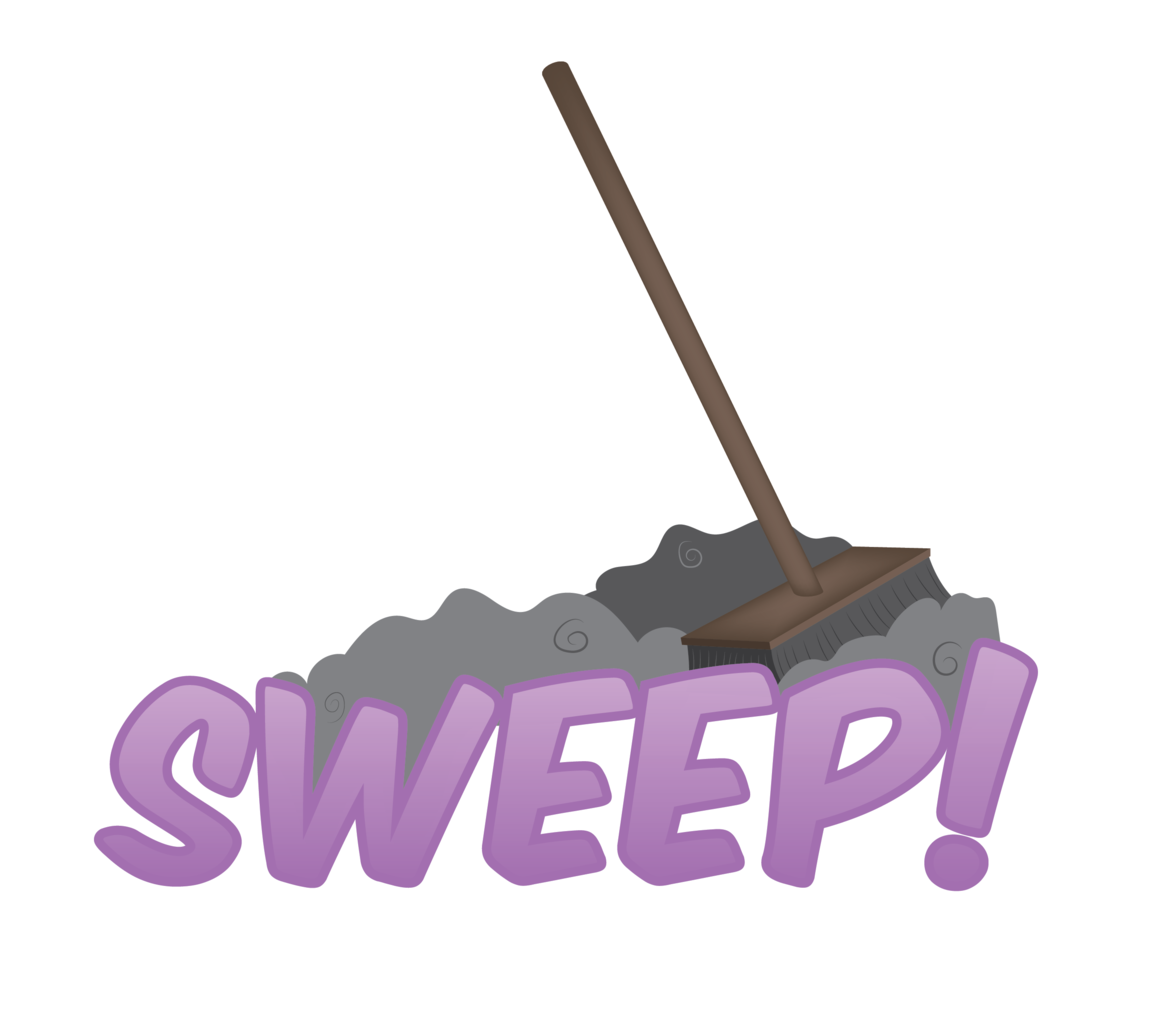 artist e safe. Dust clipart broom sweeping