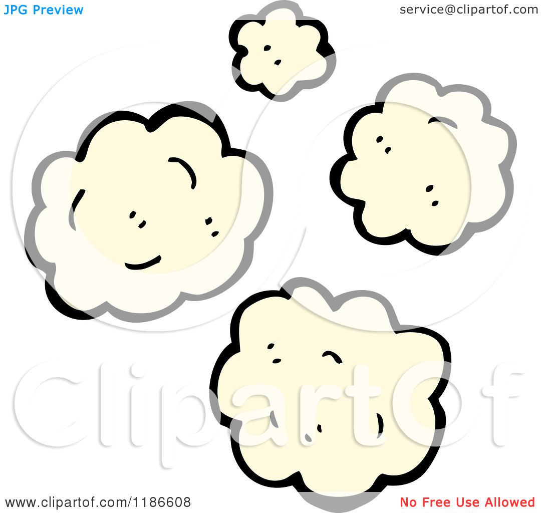 Of puffs panda free. Dust clipart cartoon