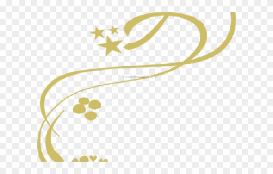Gold vines png download. Dust clipart clip art