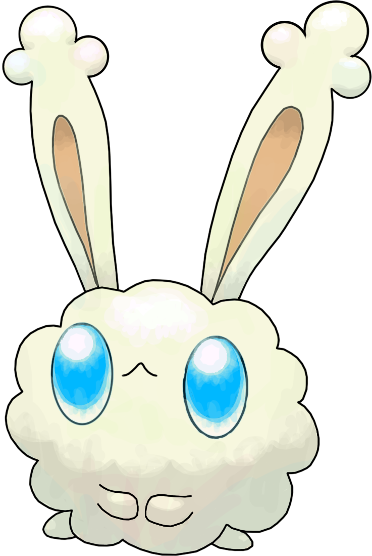 Dust clipart dust bunny. Commission by smiley fakemon