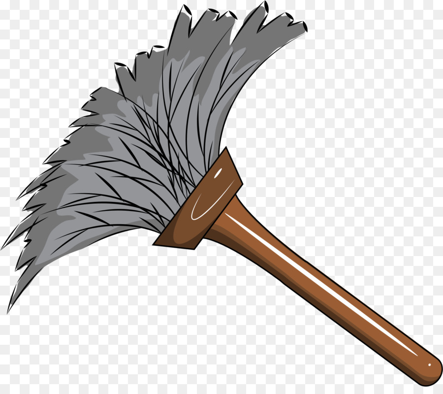 Feather duster cleaning clip. Dust clipart dust cleaner