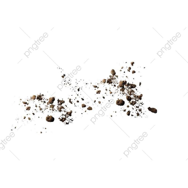 Dust clipart dust particle. Soil particles spread explode